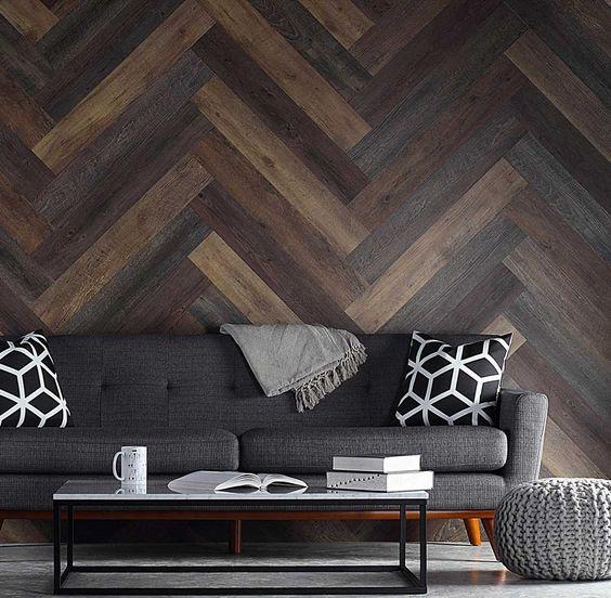 Hardwood Accent Wall | Flowers Flooring