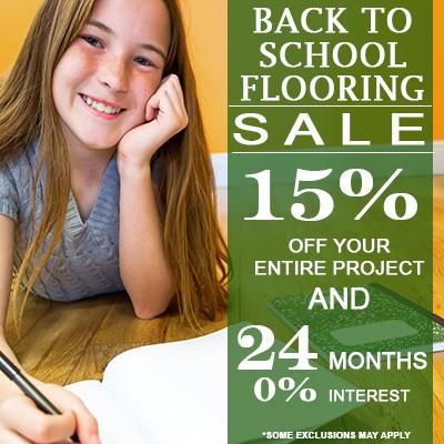 September 2019 Flooring Sale