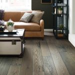 Hardwood flooring of living room | Flowers Flooring
