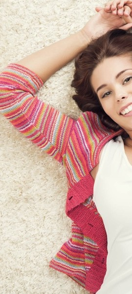 Girl on Carpet | Flowers Flooring