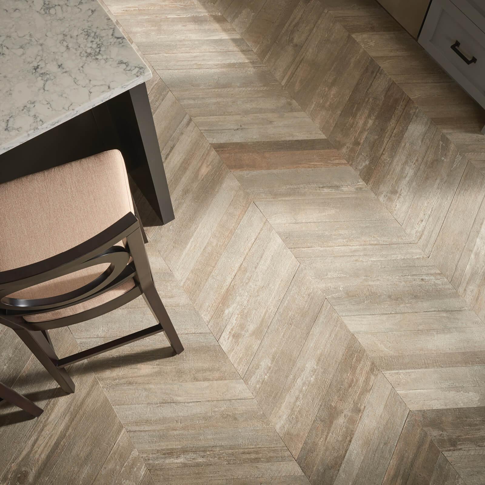 Glee Chevron tiles | Flowers Flooring