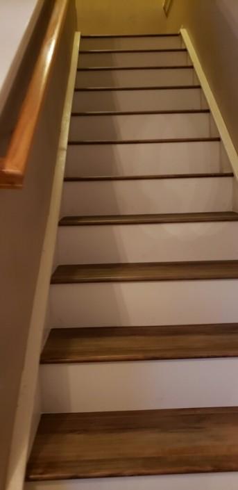 Hardwood stair treads | Flowers Flooring