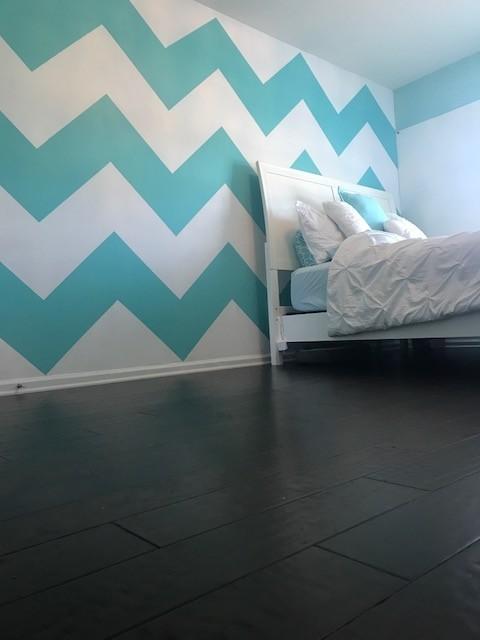 Hardwood flooring in bedroom | Flowers Flooring