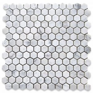 c31xp-carrara-white-marble-1-inch-hexagon-mosaic-tile-polished