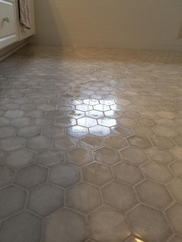 hexagon-tile-floor | Flowers Flooring