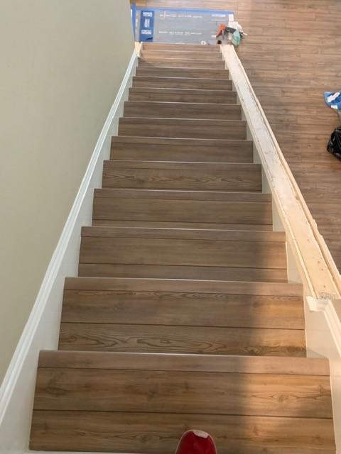 Stairs with hardwood | Flowers Flooring