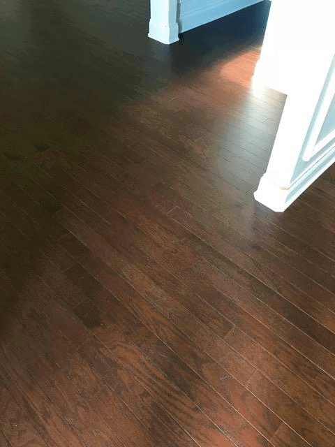 After Sand Free Refinishing Hardwood Restoration