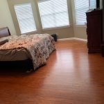 Laminate floor in bedroom | Flowers Flooring