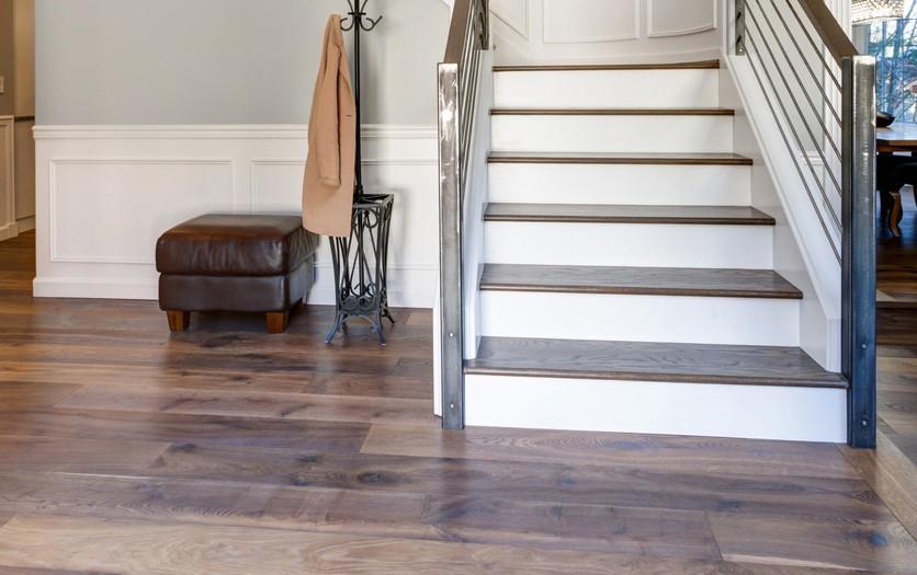 luxury vinyl stair treads | Flowers Flooring