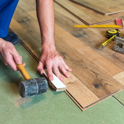 Laminate installation | Flowers Flooring
