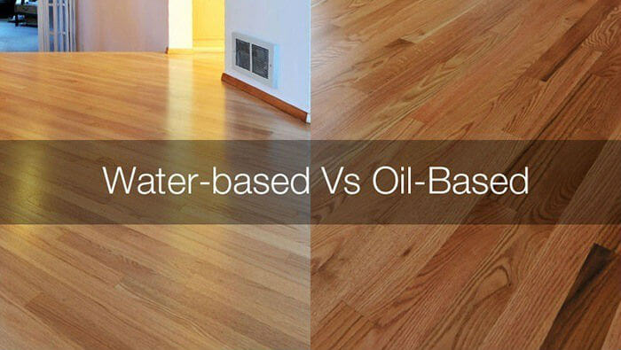Oil Based Vs Water Finishes
