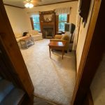 Carpet in living room | Flowers Flooring