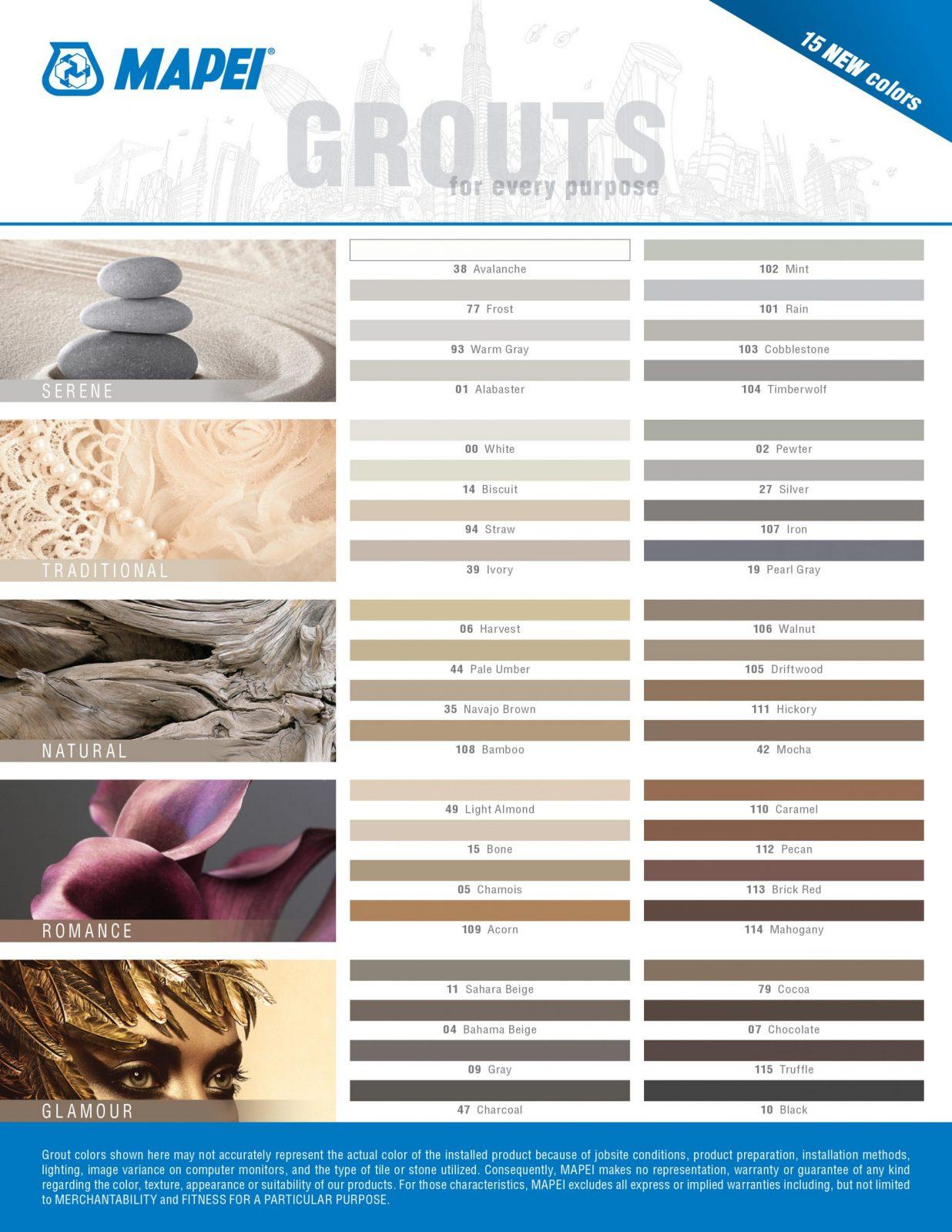 Grouts | Flowers Flooring