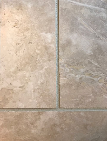 Before grout rejuvenation | Flowers Flooring