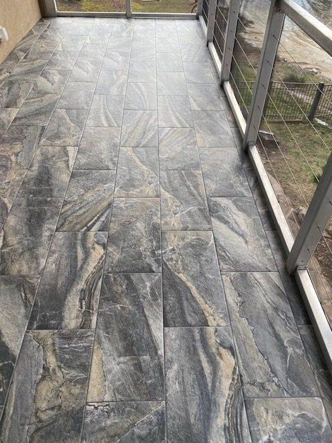 Tile Patio | Flowers Flooring
