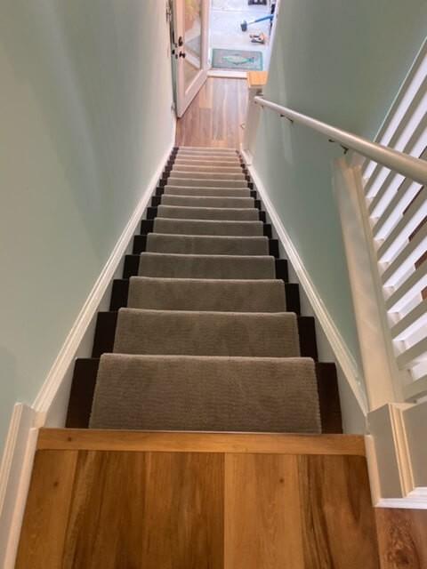 Carpet Stair Runner 2 8.27.20 | Flowers Flooring