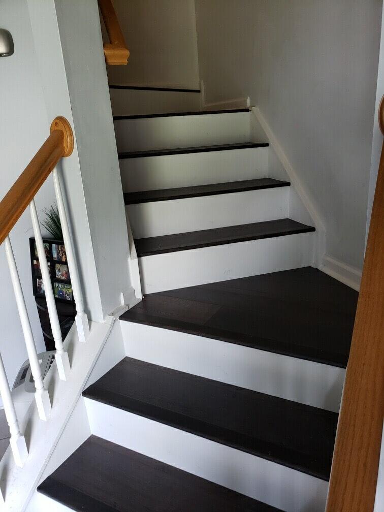Hardwood stairs 3 8.19.20 | Flowers Flooring