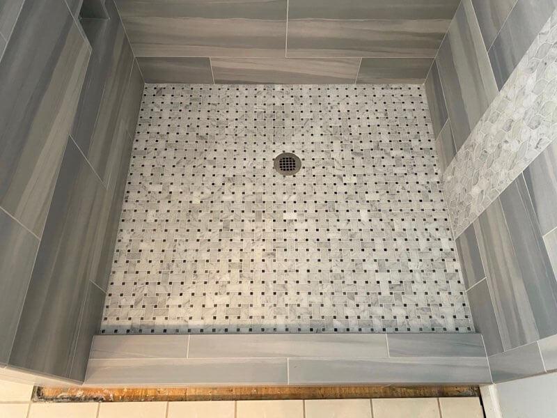 Tile Shower 1 8.19.20 | Flowers Flooring