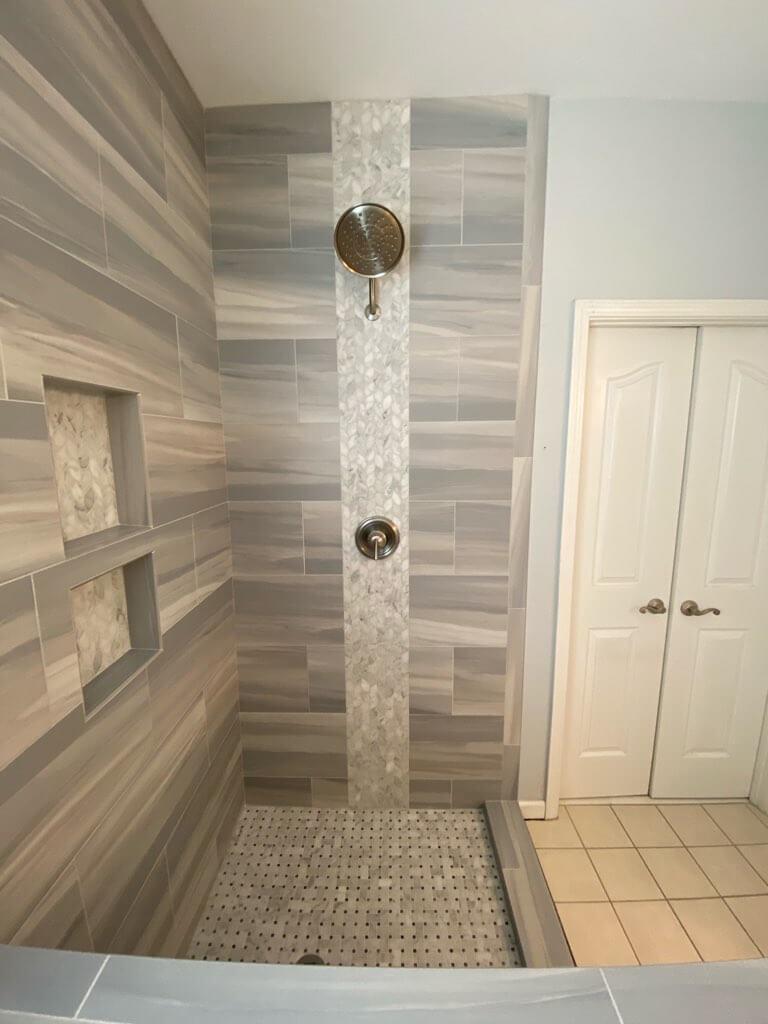 Tile Shower 3 8.19.20 | Flowers Flooring