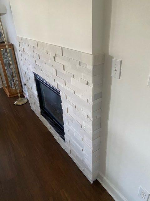 Tile Fireplace | Flowers Flooring