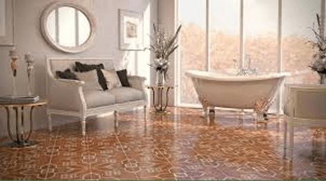 Bold Patterned Tile | Flowers Flooring
