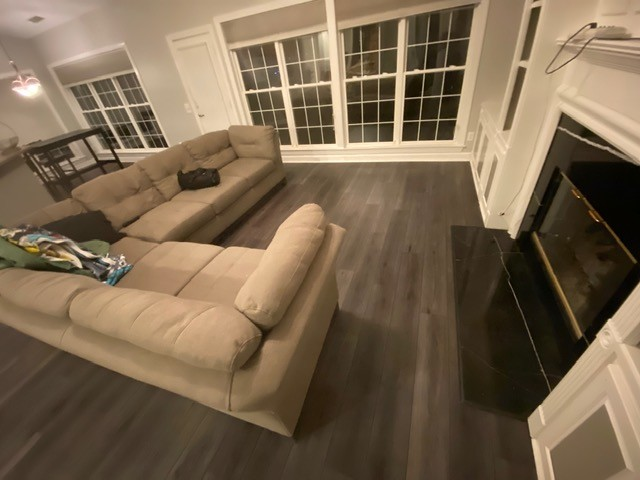 Laminate Flooring for modern living room | Flowers Flooring