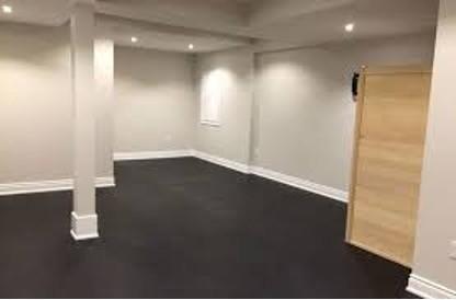 Rubber Flooring for Basement Makeovers | Flowers Flooring