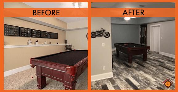Flooring Before & Afters   Flowers Flooring