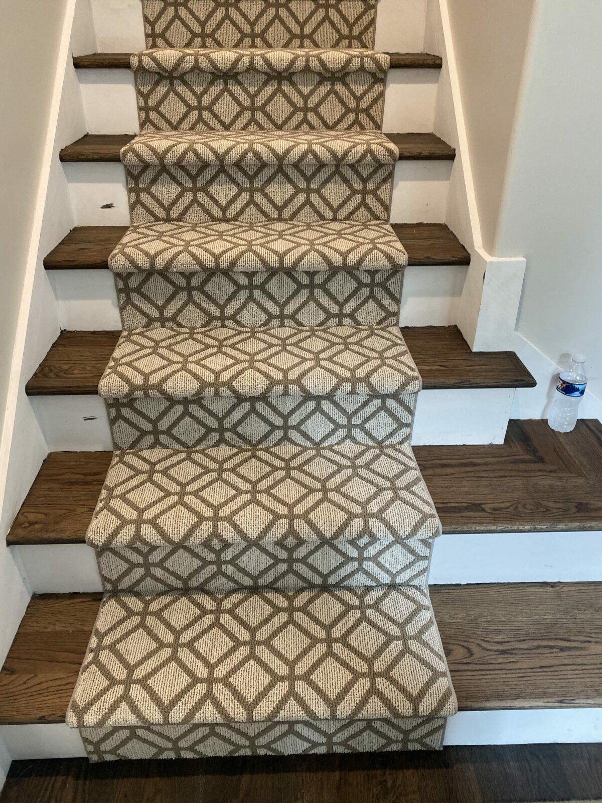 Stairway carpet runner | Flowers Flooring