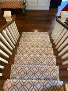 Stairway runner | Flowers Flooring